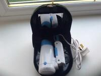 Travel hair dryer and case