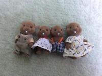 Sylvanian family of beavers