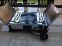 Electric plate heater