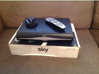 Sky+ HD Box 250 Gb with mains lead and remote