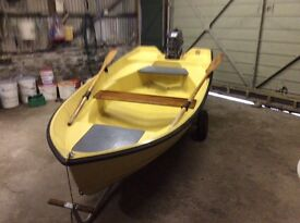BOAT AND ENGINE FOR SALE £675