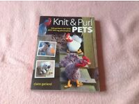 Knit & Purl Pets by Claire Garland
