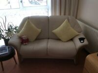 Norwegian Stressless Two Seater Settee (as new condition)