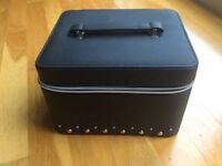 Brand New No 17 Boots Vanity Case/Make Up Case with internal mirror and tray