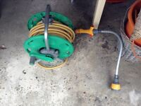 Hose pipe and wall fixing