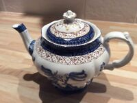 Booths old willow teapot