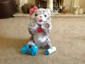 Furreal Snow Leopard Excellent Condition from smoke-free home