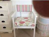 Pretty Shabby Chic Bedroom Chair.