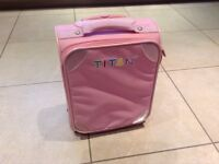 Childrens suitcase - pink