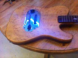 CUstom built lap slide steel guitar