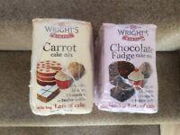 Wrights cake mixes
