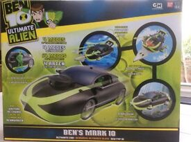 Ben Ten Ultimate Alien Mark 10 car