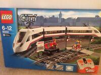 Lego city train set
