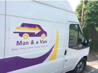 MAN & VAN FOR HIRE - Essex, Herts, Suffolk, Cambs & beyond