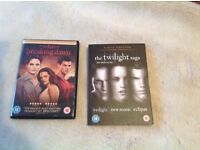 Twilight Saga DVD Set ( brand new)