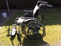 Wheelchair & battery power pack for sale