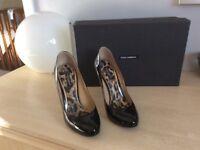 Black high heel dolce gabbana shoes