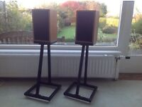 Linn Kan Mark 1 speakers with original stands