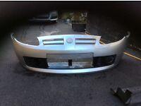 Mgtf bumper 2004 silver