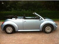 2003 RARE VW BEETLE 1.4 CONVERTIBLE