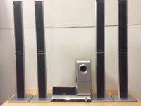 Used Panasonic DVD/cd player surround sound theatre system