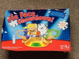 Pie Face Showdown game for two players