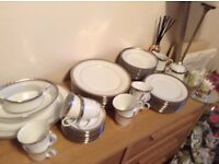 Noritake Platinum Legacy Dinner Set **collectors item**