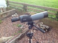 Acuter Natureclose Straight Waterproof Spotting Sope complete with Excellent Quality Tripod