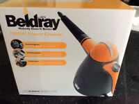 BELDRAY 1000W STEAM CLEANER (NOT USED)