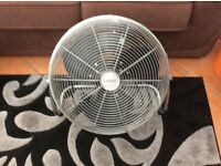 Electric floor standing fan.