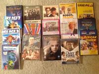 16 Assorted DVDs mixed genre