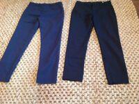 Zara - women's trousers 2 pairs - size small