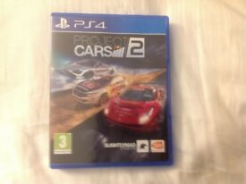 Project cars 2 PS4, hardly used in mint condition