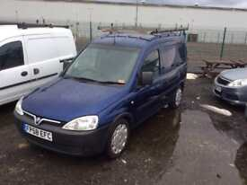 Vauxhall combo 13 diesel no vat 2008 58 plate mot till 2019 February
