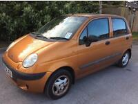DAEWOO MATIZ SE EXCELLENT FOR NEW DRIVERS CHEAP INSURANCE AND FUEL