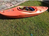 Plastic liquid logic kayak £325