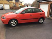 SEAT IBIZA 5dr 2005 with only 28k FSH 12 months mot 2owners vgc