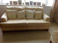 M&S (2) 3 seater sofas