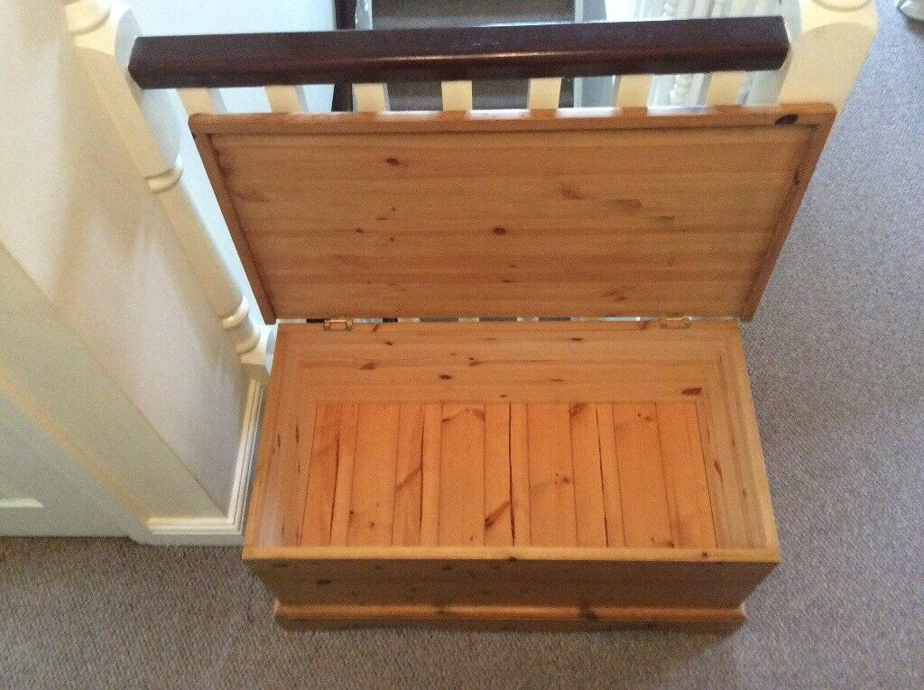 Solid Pine Linen / Storage Chest