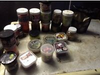 Various carp baits boilies popups cheap
