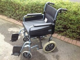 Manual wheelchair, used.