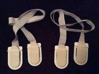 Duvet clips