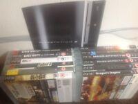 PS3 Console Plus 12 Games