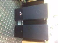 JVC Speakeers. Bluetooth, USB, SD Card, FM Radio