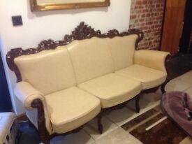 Italian 3seater sofa and 2chairs