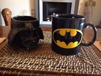 Batman & Darf Vadar mugs
