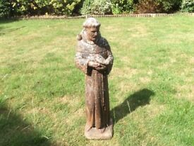 St Francis of Assisi Garden Ornament/Statue H29inches