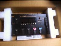 Boss Gt-100 Effects/Amp Simulator.