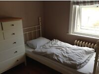 Bright. Clean double bedroom in a friendly family home.