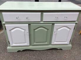 Shabby chic 2 drawer 3 door sideboard vgc